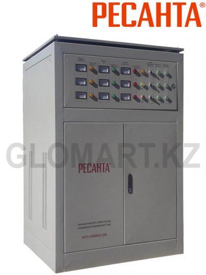 Трехфазный стабилизатор большой мощности Ресанта ACH-100000/3-ЭМ