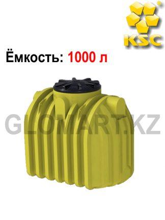 Пластиковая емкость для воды или технических жидкостей 1000 л