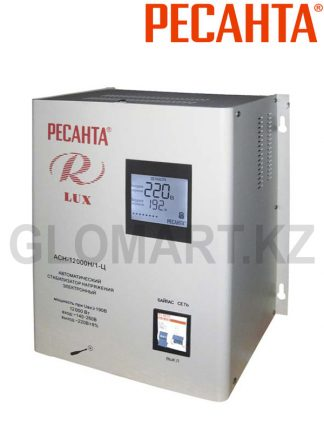 Стабилизатор напряжения однофазный настенный РЕСАНТА ACH-12000 Люкс