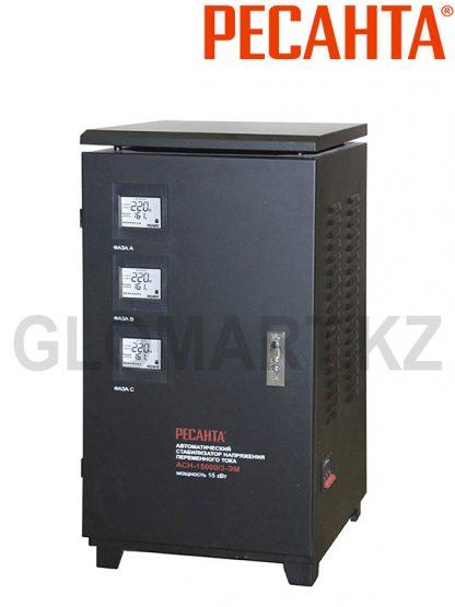 РЕСАНТА АСН-15000/3-ЭМ электромеханический стабилизатор, трехфазный