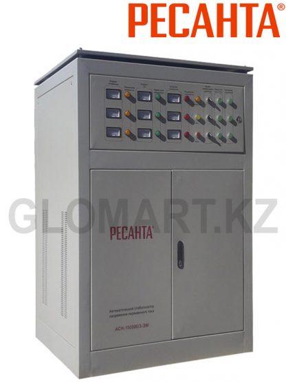 Трехфазный стабилизатор большой мощности Ресанта ACH-150000/3-ЭМ
