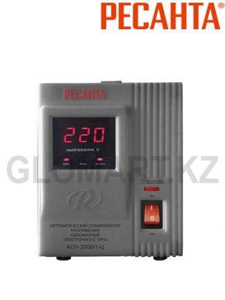 Стабилизатор напряжения РЕСАНТА ACH-2000/1, однофазный, электронного типа