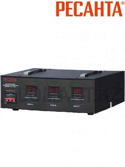 Стабилизатор напряжения РЕСАНТА ACH-4500/3-ЭМ трехфазный