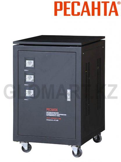 Мощный трехфазный стабилизатор Ресанта ACH-45000/3-ЭМ