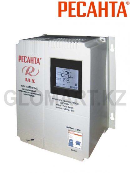 Стабилизатор напряжения однофазный настенный РЕСАНТА ACH-5000 Люкс