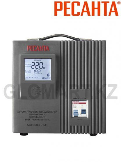 Стабилизатор напряжения однофазный РЕСАНТА ACH-5000/1 Ц
