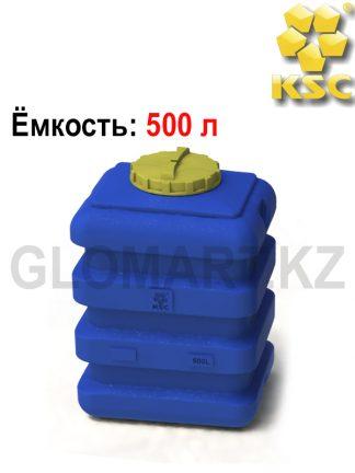 Емкость пищевая на 500 л (прямоугольная)