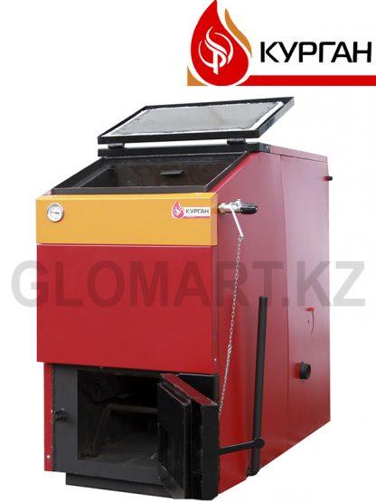 Котел длительного горения Курган КСТ 60 с регулятором тяги, отопление - 600 м² или 1800 м³