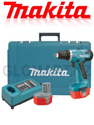 Дрель-шуруповерт Makita 6281DWPE (Кейс + 2 аккумулятора)