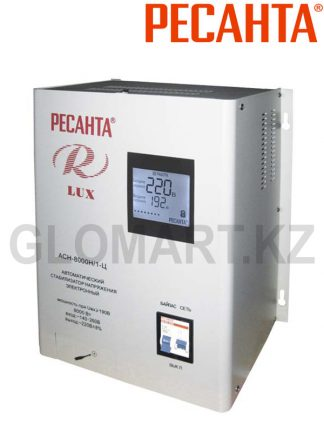 Стабилизатор напряжения однофазный настенный РЕСАНТА ACH-8000 Люкс
