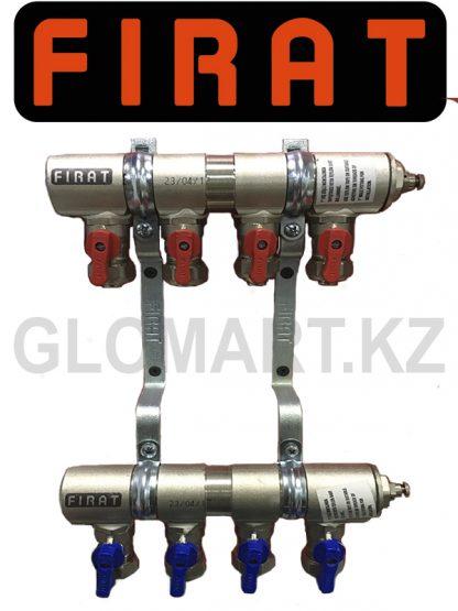 Коллектор c 4-мя выходами Firat