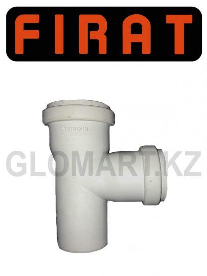Тройник прямой канализационный Firat, 50 мм