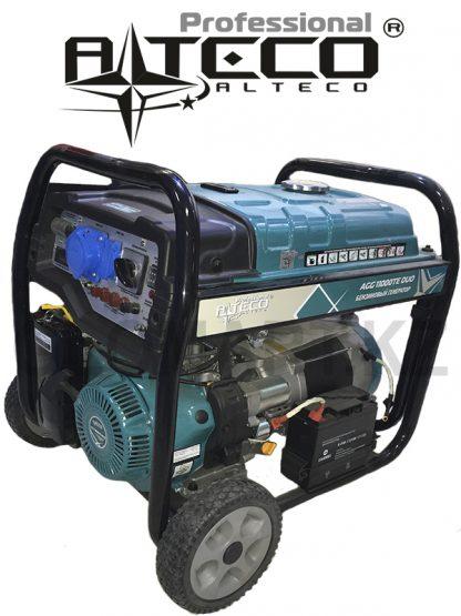 Промышленный генератор Alteco AGG-11000 TЕ DUO, 8.5 кВт