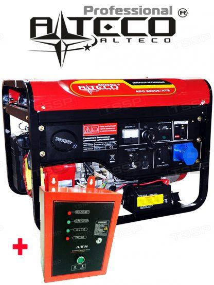 Бензиновый генератор Alteco Standard APG-9800 E + ATS(автозапуск), 7.5 кВт