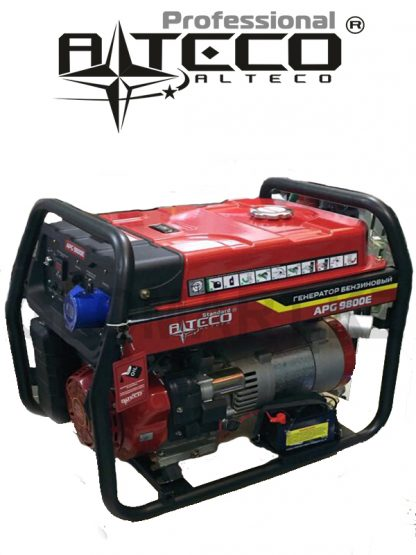 Бензиновый генератор Alteco Standard APG-9800 E (N), 7.5 кВт