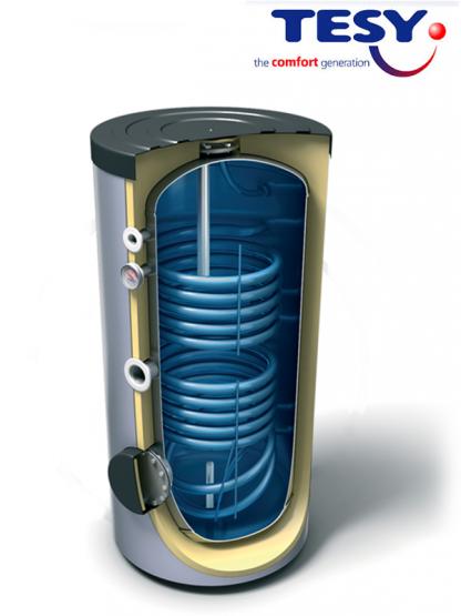 Бойлер косвенного нагрева Tesy EV7/5S2, 200 л, 30/20 кВт, 2 теплообменника