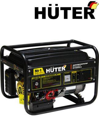 Бензиновый генератор HUTER DY4000LX / электростартер / 3.2 кВт