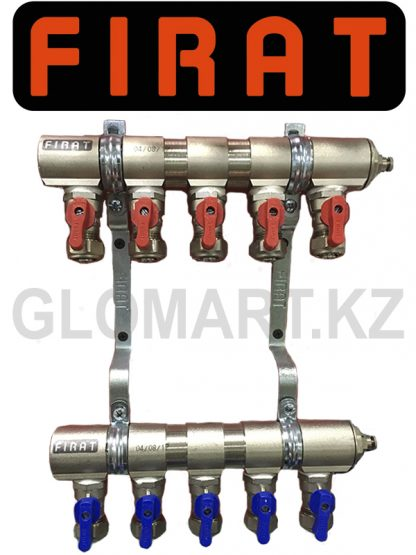 Коллектор c 5-ю выходами Firat