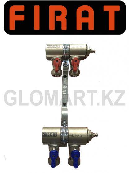 Коллектор Firat c 2-мя выходами