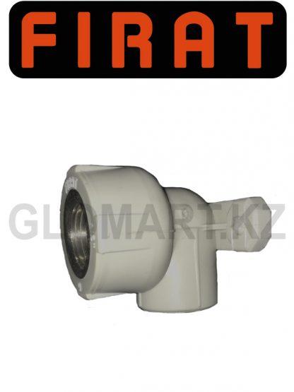 Уголок с креплением Firat 20*1/2 с внут. резьбой