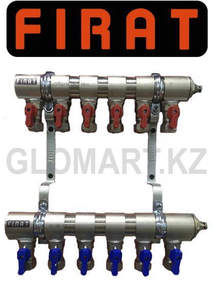 Коллектор c 6-ю выходами Firat