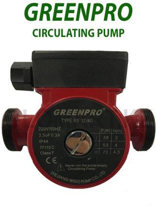Циркуляционный насос GREENPRO RS32/4