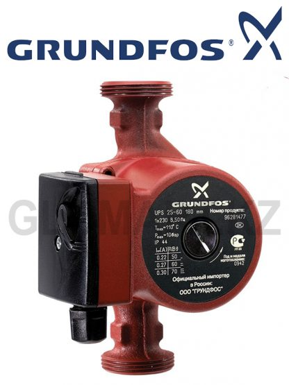 Циркуляционный насос GRUNDFOS UPS 25-60/180