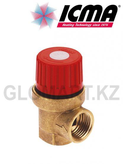Клапан предохранительный ICMA, от 1,5 до 6 бар
