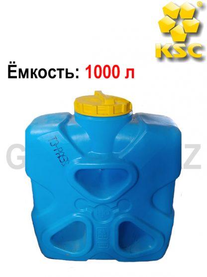 Емкость прямоугольная Молекула 1000 л