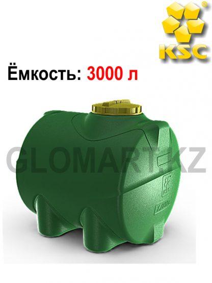 Пластиковая емкость для воды или топлива - 3000 л