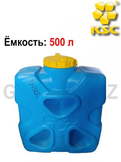 Емкость прямоугольная Молекула 500 л