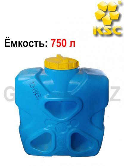 Емкость прямоугольная Молекула 750 л
