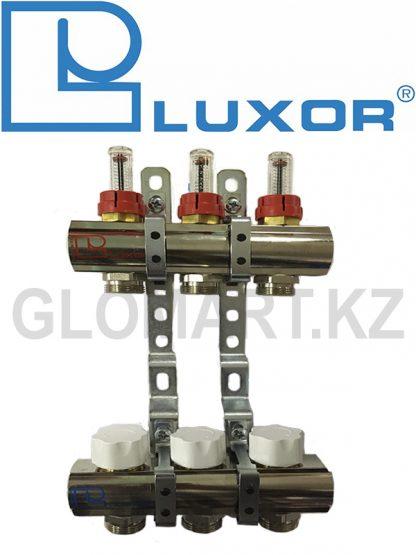 Коллектор с расходомерами 3 выхода Luxor