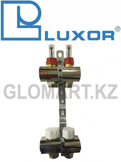Коллектор с расходомерами 2 выхода Luxor