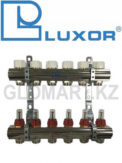 Коллектор с расходомерами 6 выходов Luxor