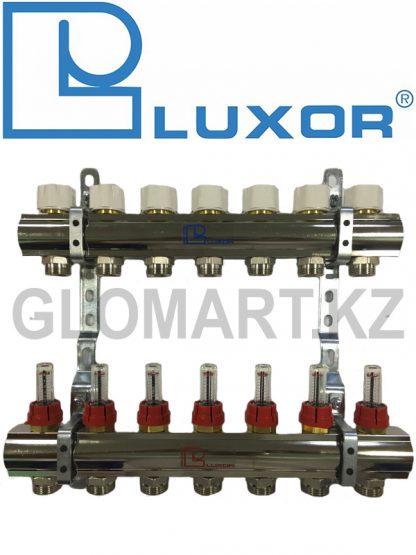 Коллектор с расходомерами 7 выходов Luxor
