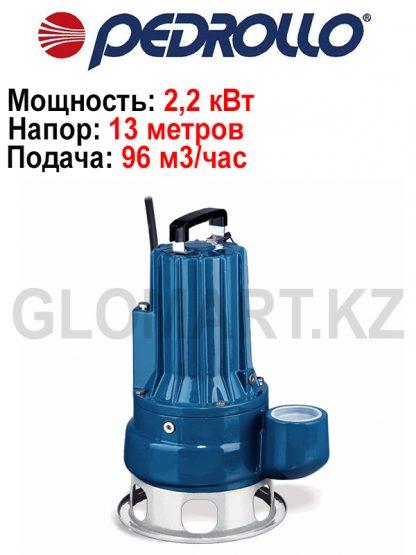 Одноканальный погружной однофазный насос Pedrollo MCm 30/70