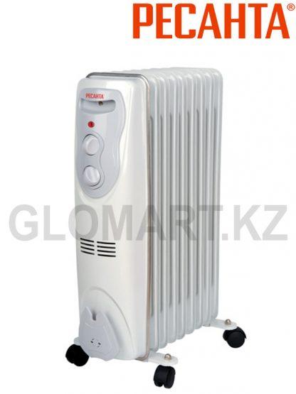 Масляный радиатор Ресанта ОМ-9Н на 20 м2