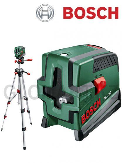 Лазерный нивелир с функцией отвеса Bosch PCL 20 Set