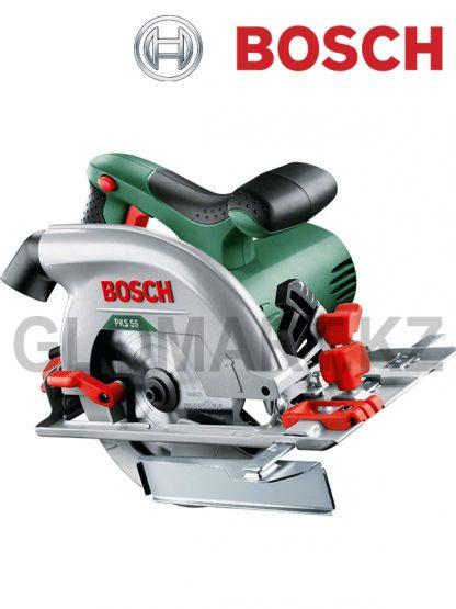 Дисковая пила Bosch PKS 55 A (коробка)