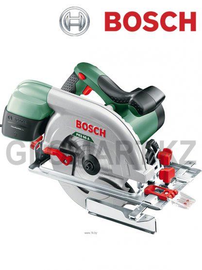 Дисковая пила Bosch PKS 66 A (коробка)