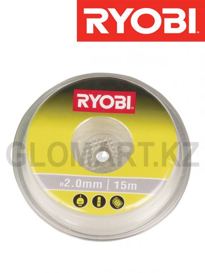 Леска для триммера Ryobi RAC102, 2 мм, 15 м