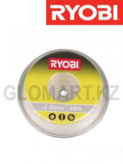 Леска для триммера Ryobi RAC103, 2.0 мм, 50 м