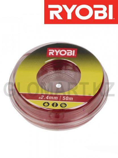 Леска для триммера Ryobi RAC105, 2.4 мм, 50 м