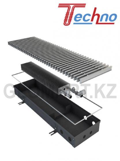 Конвектор для отопления Техно КВЗВ 250*85*1000 с вентилятором