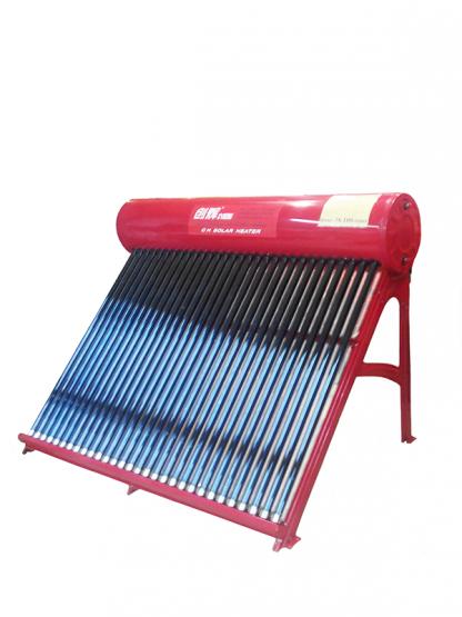 Солнечный водонагреватель Solar Heater СН-62, бак 160 литров, ДШВ 201х128х145 см