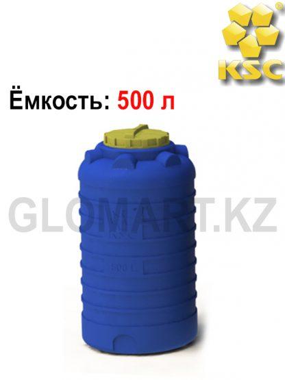 Емкость для воды, дизельного топлива или технических жидкостей 500 л